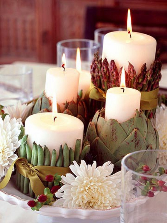 Warm and Inviting Thanksgiving Centerpiece Ideas  (6)