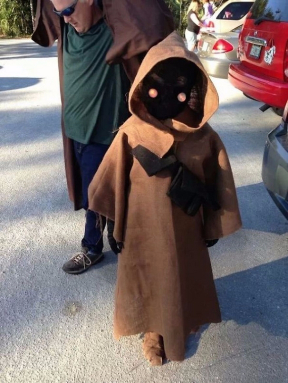 Cool Sweet And Funny Toddler Halloween Costumes Ideas For Your Kids (17)