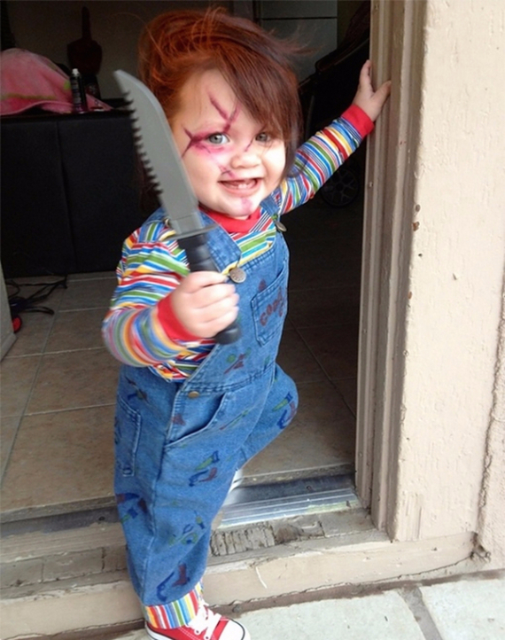 Cool Sweet And Funny Toddler Halloween Costumes Ideas For Your Kids (22)