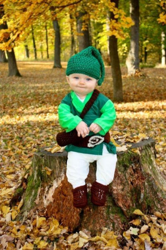 Cool Sweet And Funny Toddler Halloween Costumes Ideas For Your Kids (4)