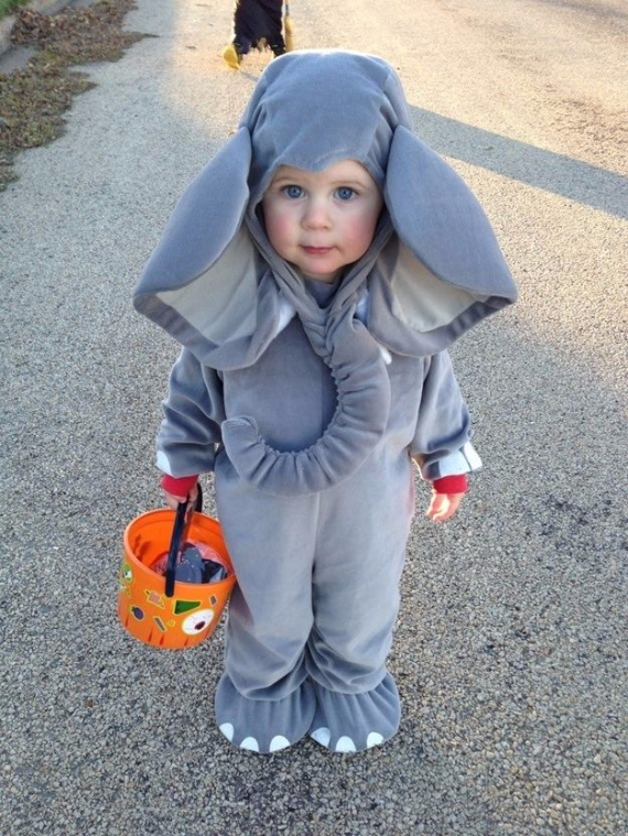 Cool Sweet And Funny Toddler Halloween Costumes Ideas For Your Kids (5)