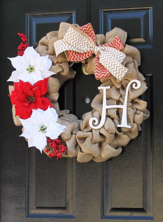 Diy Wreaths For Front Door Christmas Holidays
