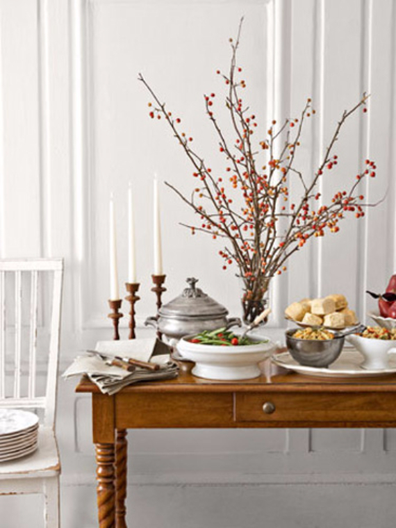 Easy and Elegant Festive Thanksgiving Decorating (10)