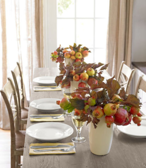 Easy and Elegant Festive Thanksgiving Decorating (14)