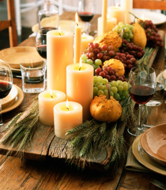 Easy and Elegant Festive Thanksgiving Decorating (17)