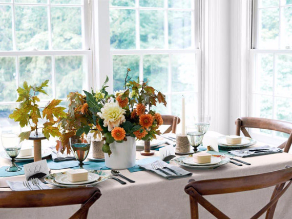 Easy and Elegant Festive Thanksgiving Decorating (20)