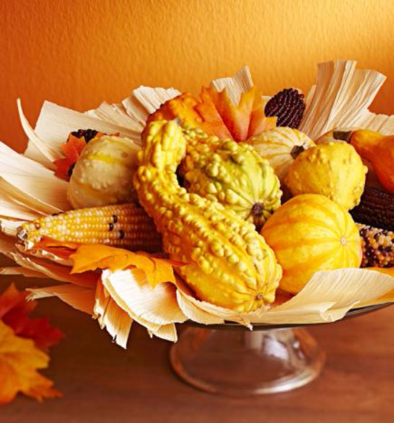 Easy and Elegant Festive Thanksgiving Decorating (50)
