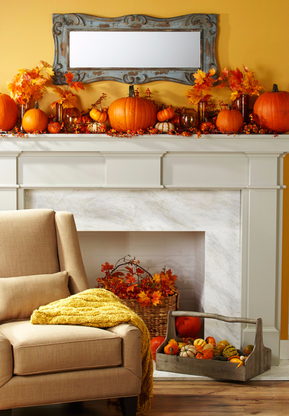 Easy and Elegant Festive Thanksgiving Decorating (53)