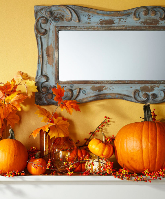 Easy and Elegant Festive Thanksgiving Decorating (56)
