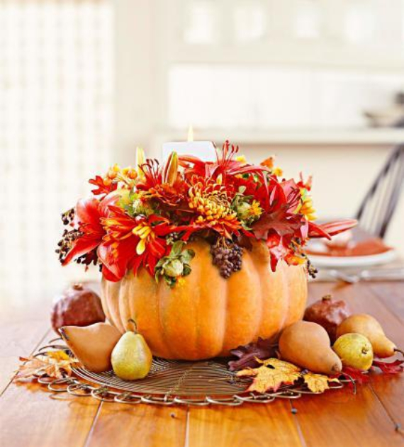 Easy and Elegant Festive Thanksgiving Decorating (6)