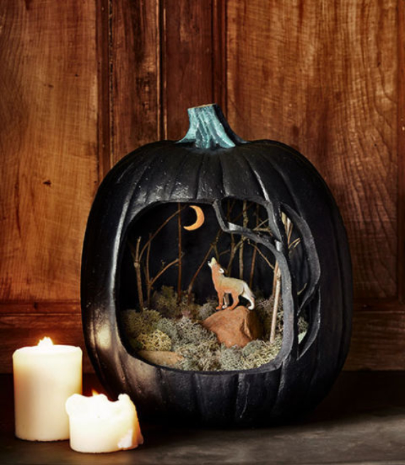 New Ways to Decorate Your Halloween Pumpkins (10)