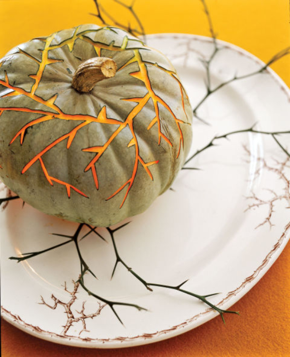 New Ways to Decorate Your Halloween Pumpkins (15)