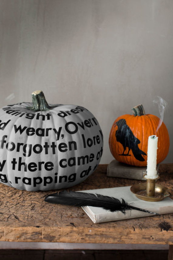 New Ways to Decorate Your Halloween Pumpkins (27)