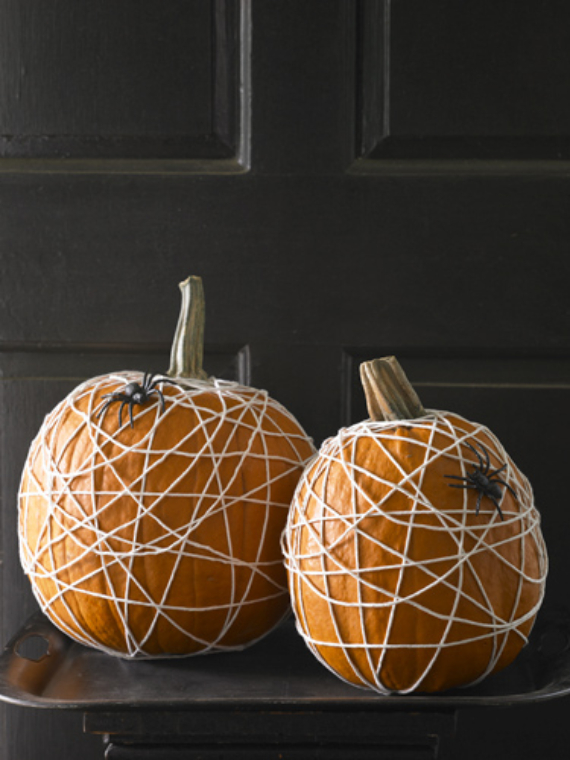 New Ways to Decorate Your Halloween Pumpkins (38)