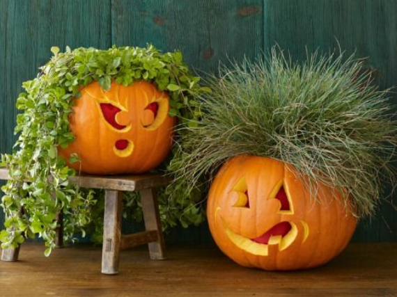 New Ways to Decorate Your Halloween Pumpkins (8)