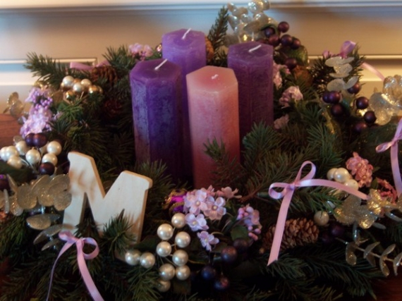 Advent Candles Ideas (31)