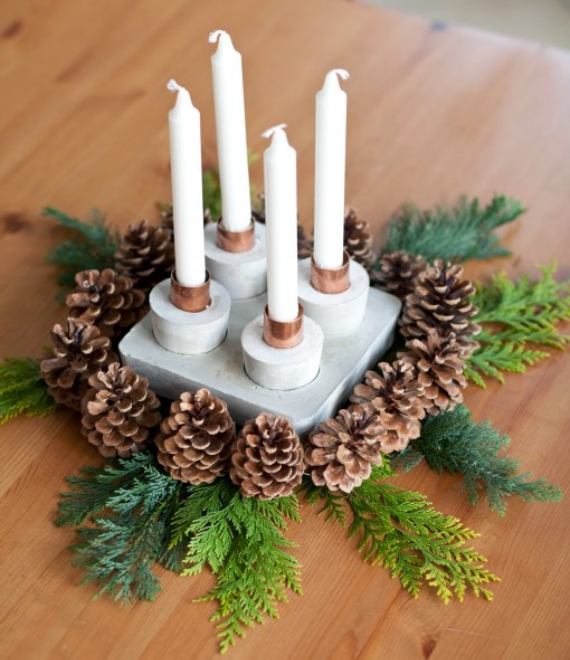 Advent Candles Ideas (5)