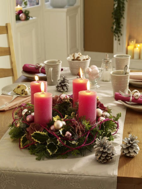 Advent wreath candles  (1)