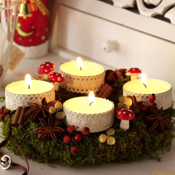 Advent wreath candles  (20)