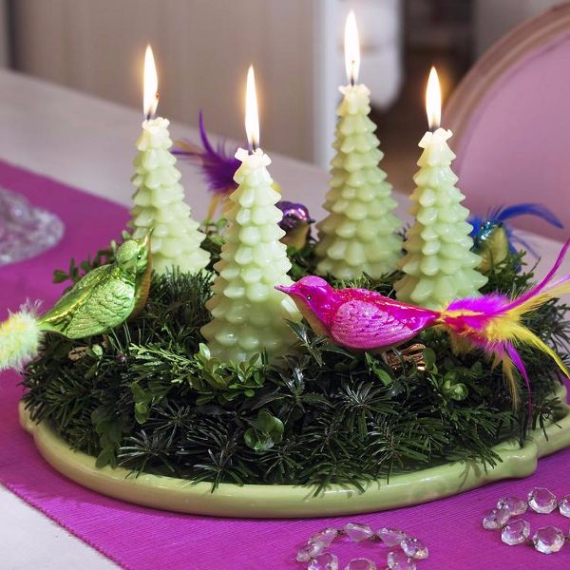 Advent wreath candles  (22)