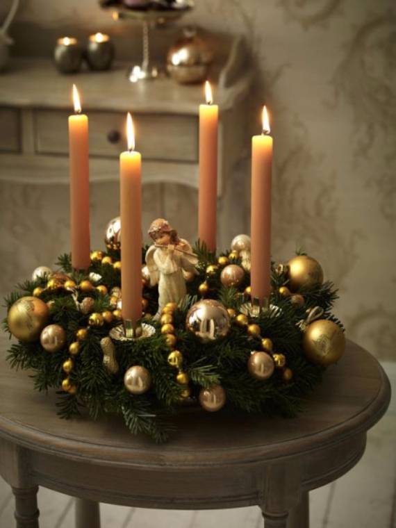 Advent wreath candles  (25)