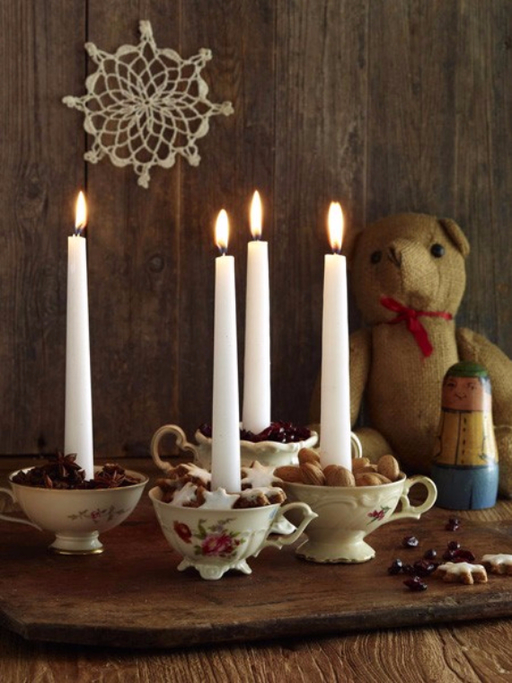 Advent wreath candles  (40)