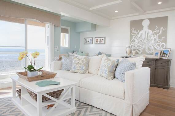 Chic Beach House Interior Design Ideas 1