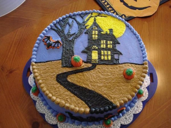 Cute & Non scary Halloween Cake Decorations (1)