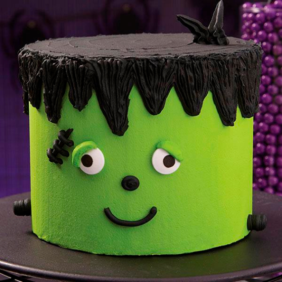 Cute & Non scary Halloween Cake Decorations (19)