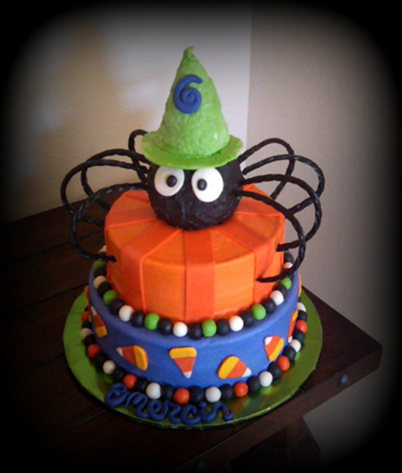 Cute & Non scary Halloween Cake Decorations (5)
