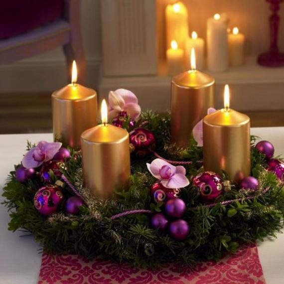 DIY Advent Wreath Ideas (1)
