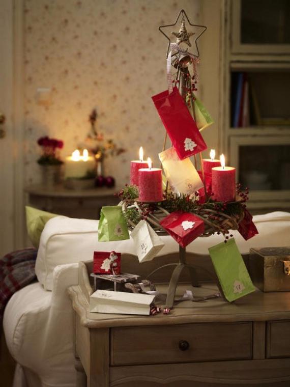 DIY Advent Wreath Ideas (10)