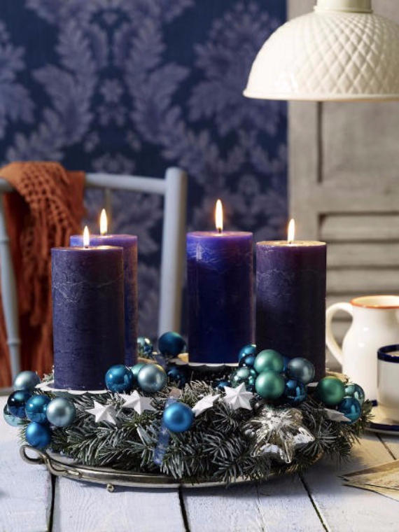 DIY Advent Wreath Ideas (11)