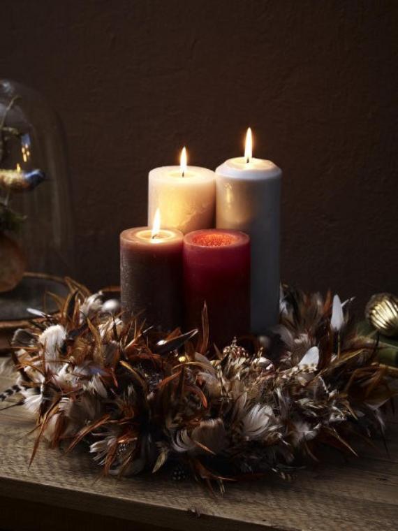 DIY Advent Wreath Ideas (15)