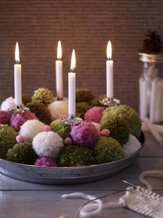 DIY Advent Wreath Ideas (17)