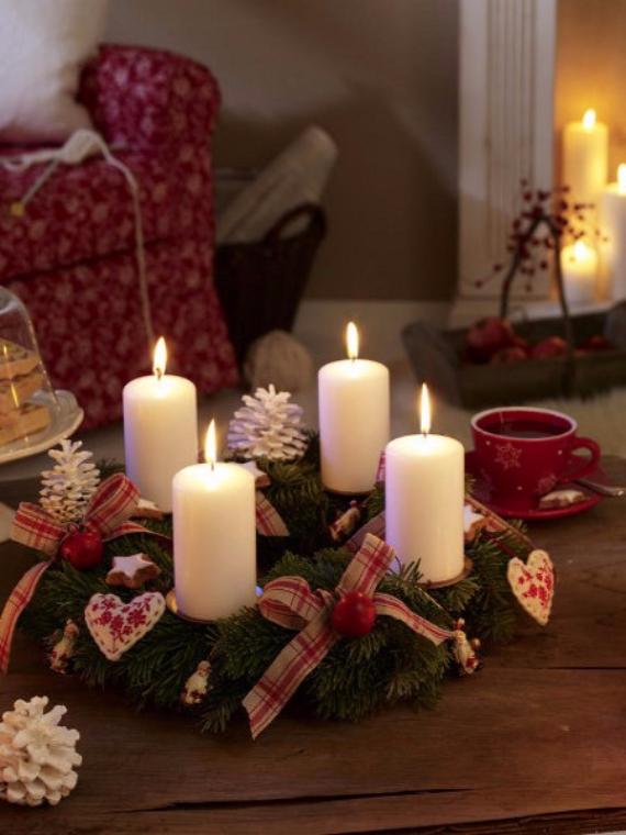 DIY Advent Wreath Ideas (18)