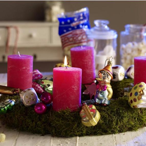 DIY Advent Wreath Ideas (19)