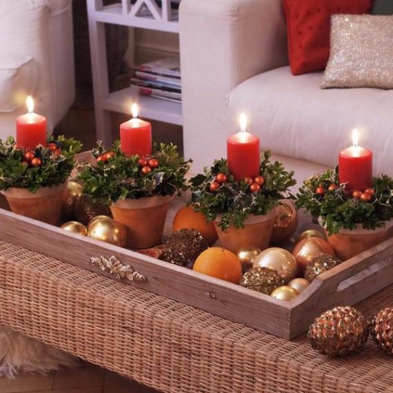 DIY Advent Wreath Ideas (20)