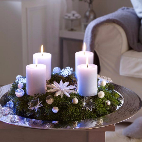 DIY Advent Wreath Ideas    (21)