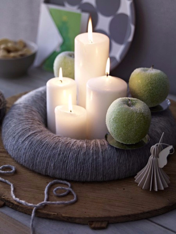 DIY Advent Wreath Ideas (25)