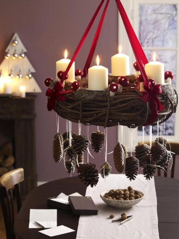 DIY Advent Wreath Ideas    (3)