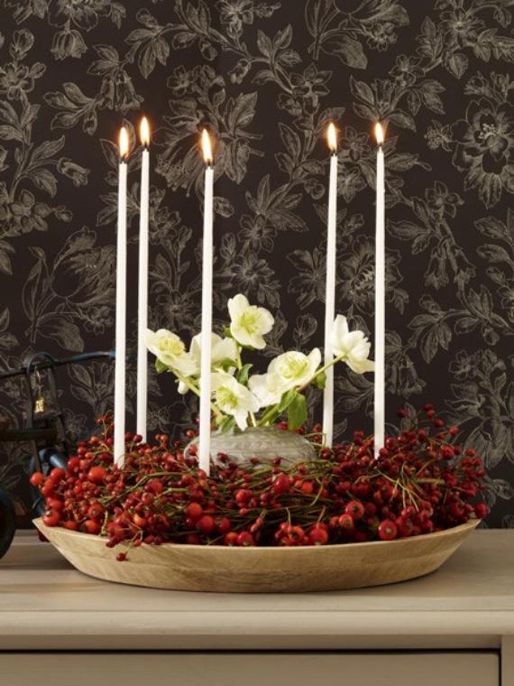 DIY Advent Wreath Ideas    (33)
