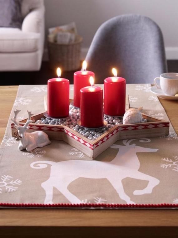 DIY Advent Wreath Ideas    (34)