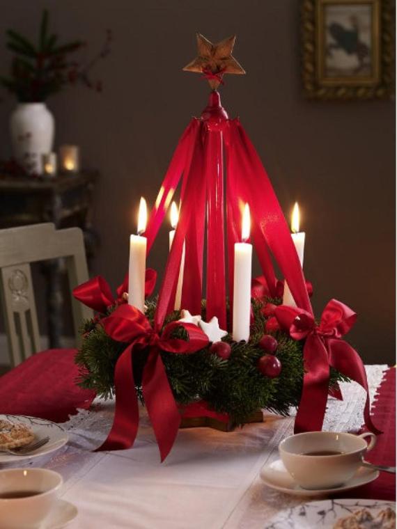 DIY Advent Wreath Ideas    (6)