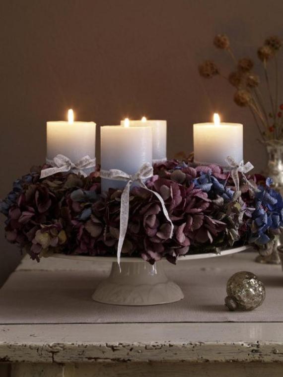 DIY Advent Wreath Ideas (7)