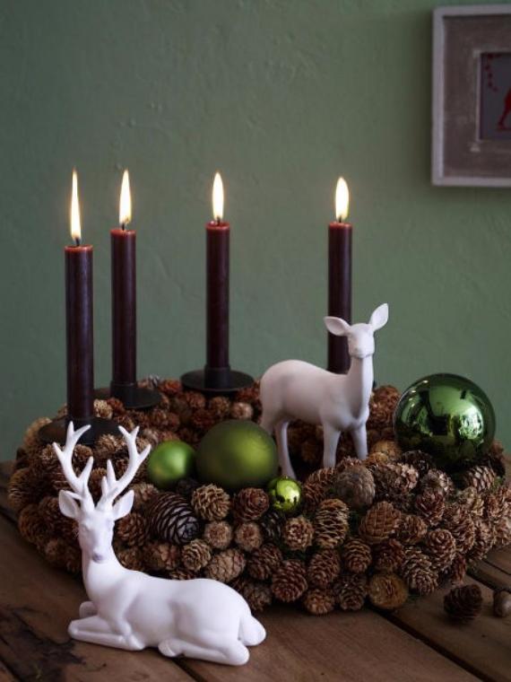 DIY Advent Wreath Ideas    (8)