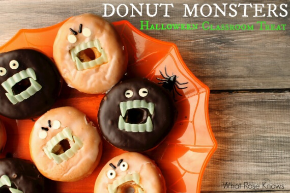 Easy Halloween Treats Doughnuts of Doom (3)