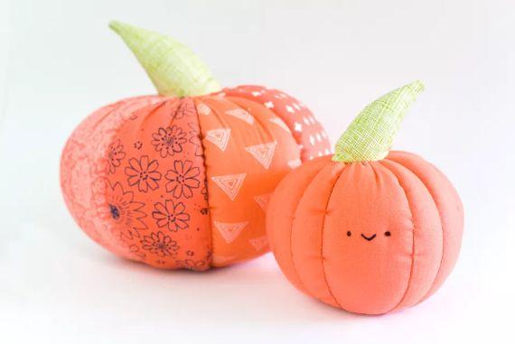 Fabric Pumpkin (1)