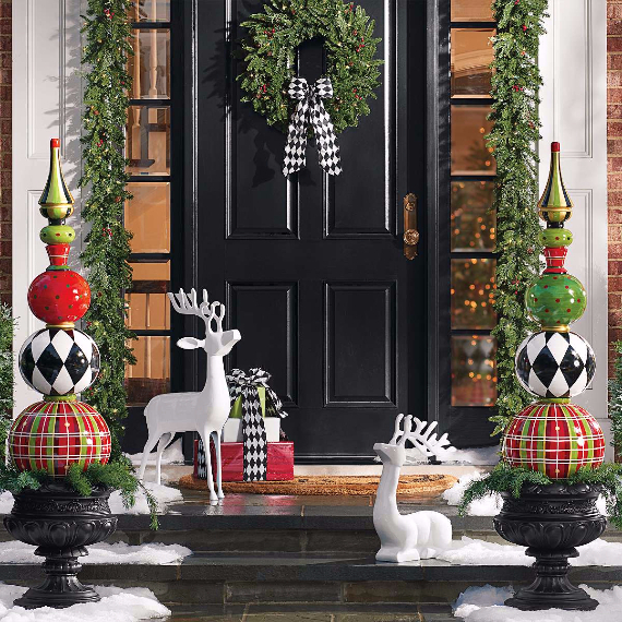 Fascinating Christmas Ideas For Indoors And Outdoors (84)