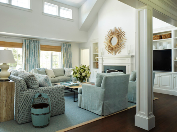 Interior Holiday Home Design In Blue Tones (3)